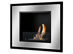 Ignis Ventless Bio Ethanol Fireplace Bellezza Mini with Safety Glass