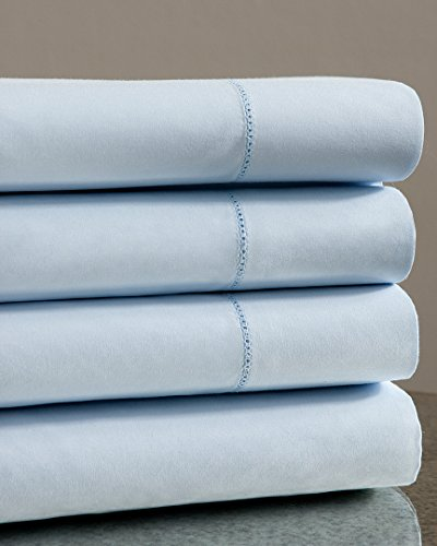 Notte By Bellino Solid Hemstitch Sheet Set, King Sheet Set (Bellino Sheets compare prices)