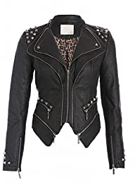 Pretty Attitude Women's Studded Punk…