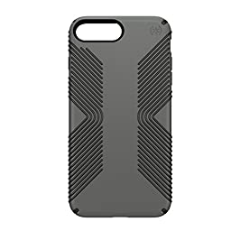 Speck Products Presidio Grip Cell Phone Case for iPhone 7 Plus - Graphite Grey/CHARCOAL Grey