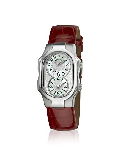 Philip Stein Women's Signature Mother-of-Pearl Genuine Leather Watch