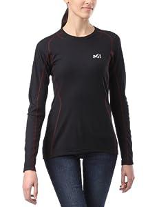 Millet Ld C Thermol Ls Tee-shirt thermique manches longues femme Noir S