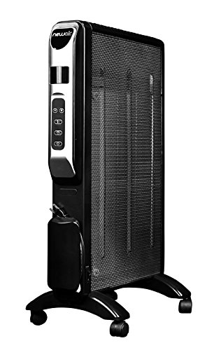 NewAir AH-470 Micathermic Space Heater, Black (Mica Radiator Heater compare prices)