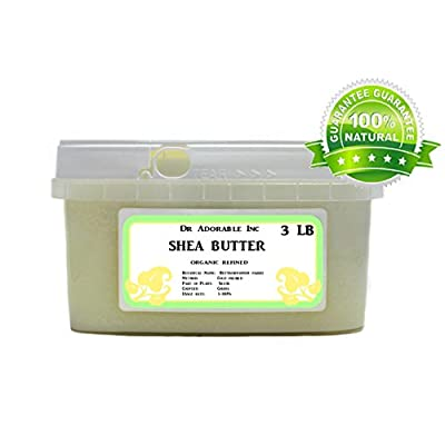 Refined Shea Butter Pure Raw 48 Oz / 3 Lb