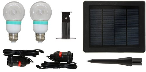 Il08 Solar Led Light Bulbs (Pair)