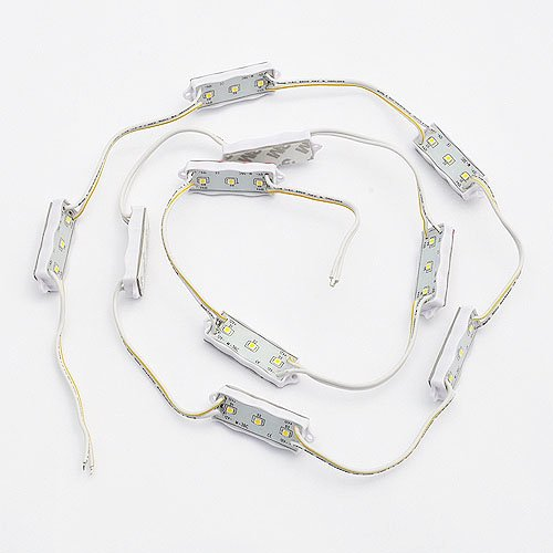 10 X Waterproof Led Module With 3X 3528 Smd Green Led For Sign And Channel Letter,By Ledwholesalers 2071Gn