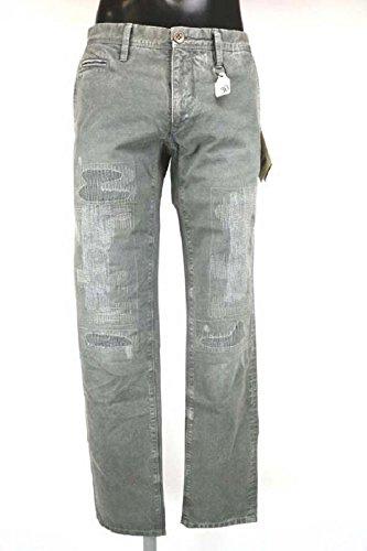 pantaloni uomo SIVIGLIA size 30 grigio cotone AM354
