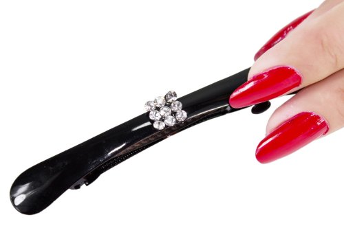 Starlite Womens Rhinestones Hair Clip-Claw-Clasp Various Designs HC-9-FREE SHIPPING