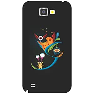 Samsung Galaxy Note 2 magnetic phone cover
