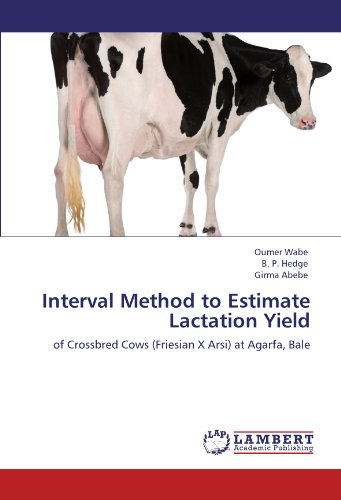 Interval Method to Estimate Lactation Yield: of Crossbred Cows (Friesian X Arsi) at Agarfa, Bale PDF