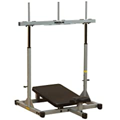 PowerLine Vertical Leg Press. The Powerline Vertical Leg Press provides an impressive platform for obtaining huge muscle gains through isolated lower body workouts. The unique vertical design not only reinforces support for your back and hips...