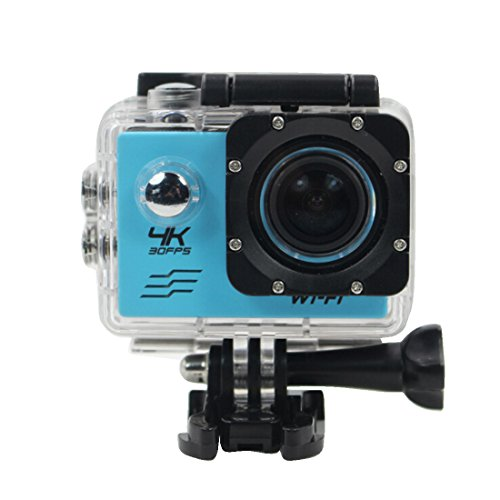 "ProCam-4KUltraHD1080pWifiSportCam-2 ""DisplayLCD30 Mimpermeabile telecamerasportfotocameraHDMIDVVideoregistratoreconbatterieeaccessori"