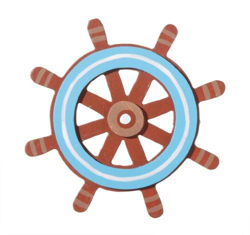 Darice 9189-92 Captains Wheel Cutout