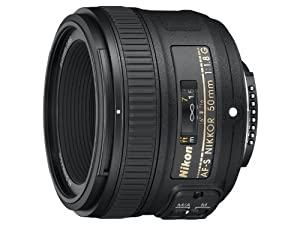 Nikon 50mm f/1.8 AF-S NIKKOR FX Lens from NIKO9