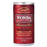 アサヒ WANDA ワンダ モーニングショット 190g缶×30本