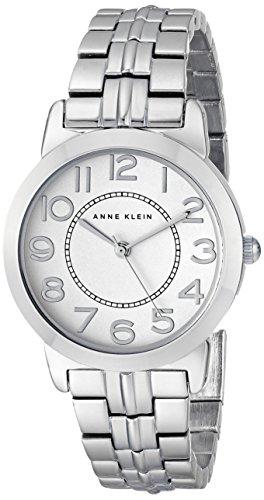 """Anne Klein Women'S """"Ak/1791Svsv"""" Easy To Read Dial Silver-Tone Bracelet Watch"""