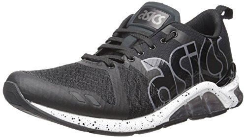 ASICS GEL Lyte One Eighty Retro Running Shoe, Black/White, 4.5 M US