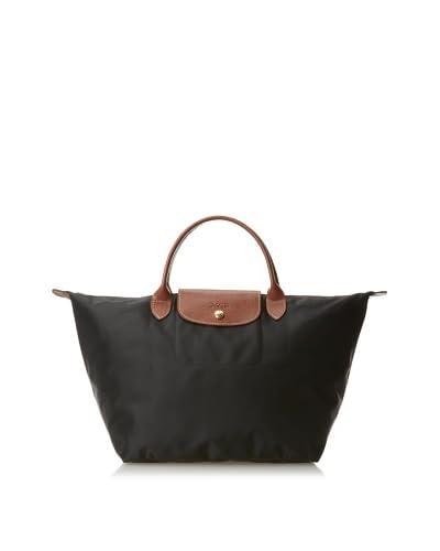 Longchamp Women's Le Pliage Medium Handbag, Black, One Size