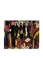 Especial Arte Lienzo Ansicht Von Tegernse - Macke August Multicolor