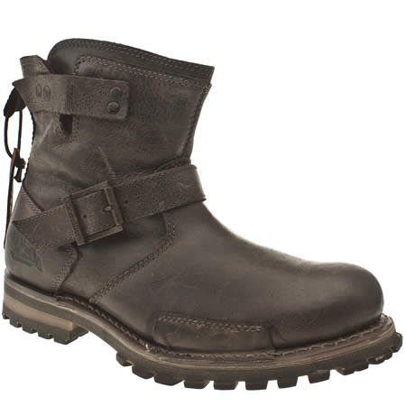 Caterpillar Vern - 11 Uk - Dark Brown - Leather