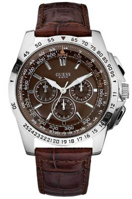 Guess Herren Armbanduhr MPH W16559G2