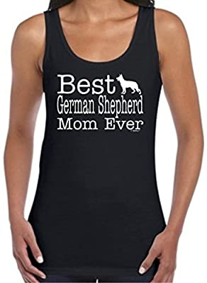 Dog Lover Gift Best German Shepherd Mom Ever Juniors Tank Top