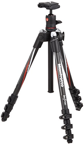 Manfrotto MKBFRC4-BH Befree Carbon Fiber Tripod with Ball Head (Black) (Manfrotto Carbon Tripod compare prices)