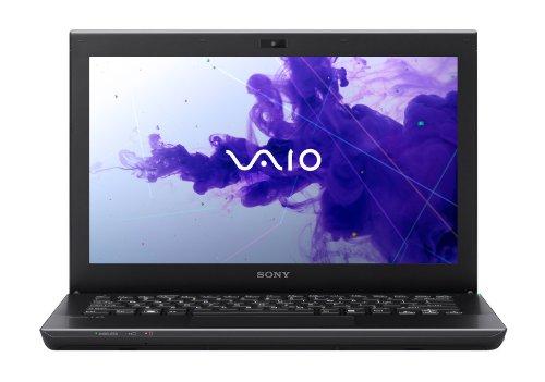 Sony VAIO SVS1312S9EB 33,8 cm (13,3 Zoll) Notebook (Intel Core i7 3520M, 2,9GHz, 8GB RAM, 750GB HDD, NVIDIA GT 640M LE (1GB), DVD, UMTS, Win 8 Pro) schwarz
