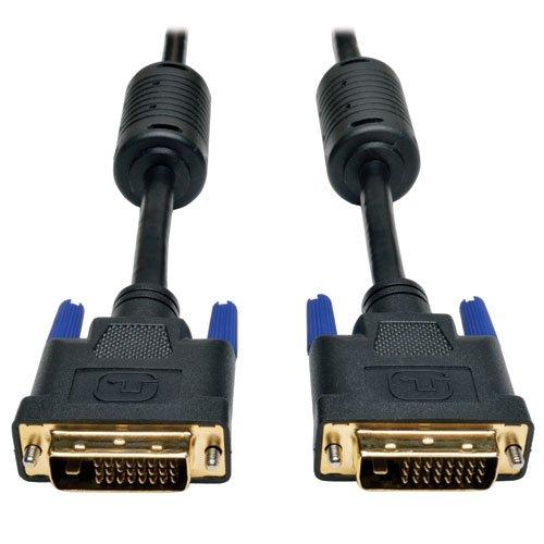 Tripp Lite DVI Dual Link Cable, Digital TMDS Monitor Cable (DVI-D M/M) 6-ft.(P560-006)