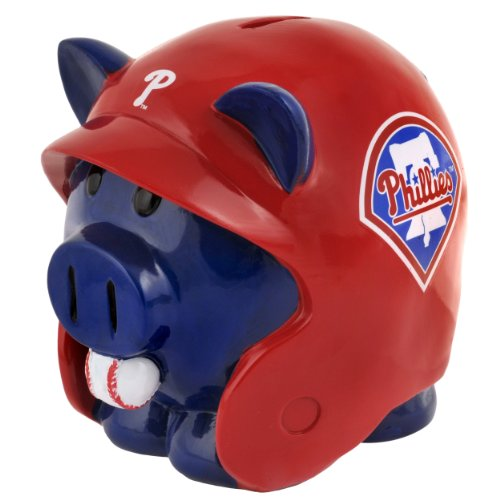 MLB Philadelphia Phillies Resin Large Helmet Piggy Bank at Amazon.com