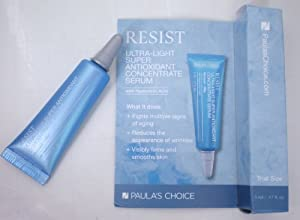 Paulas Choice RESIST Ultra-Light Super Antioxidant Concentrate Serum Travel Size (5ml/.17oz) *NEW RELEASE*