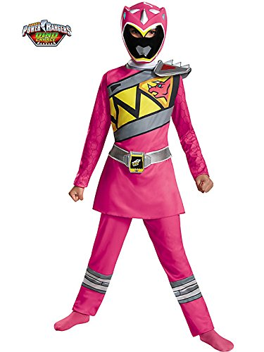 Pink Ranger Dino Charge Classic Costume for Kids