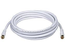 Monoprice -106315-10-Feet-Coaxial-Connector