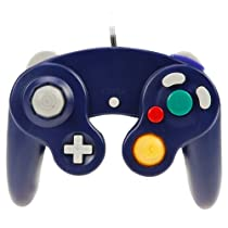 GTMax Wired Indigo Controller for Nintendo Wii GameCube