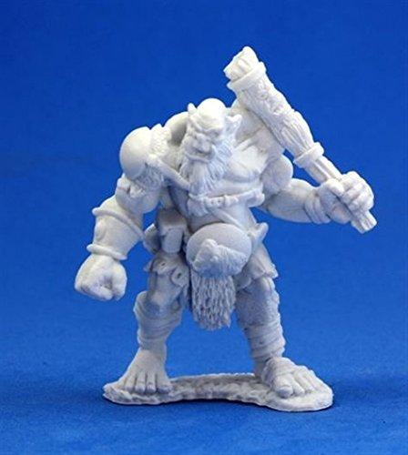 Ogre Chieftain - Dark Heaven Bones Miniature - 1