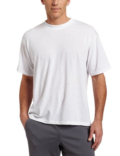 Mj Soffe Men's Dri-Release Tee, White, XX-Large