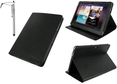 rooCASE 2n1 Multi-Angle (Black) Leather Folio