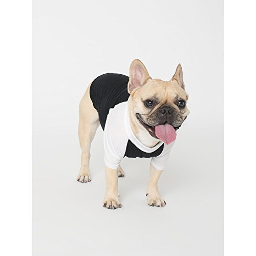 american-apparel-two-tone-3-4-sleeve-dog-t-shirt-m-black-white