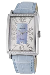 Gevril Women's 6207NT Glamour Automatic Blue Diamond Watch from Gevril
