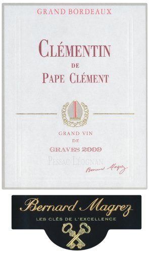 2009 Le Clementin De Pape Clement Rouge Pessac Leognan Bordeaux 750 Ml