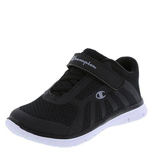 Champion Boy's Black/White Gusto Lightweight Runner 8 M US (Champion Kids Shoes compare prices)