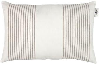 Tom Tailor 575218 T-Next Stripes Enveloppe de Coussin Polyester/Lin Beige 40 x 60 cm