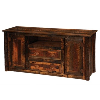 Cheap Fireside Lodge B14250 / B14251 Reclaimed Barnwood 60″ TV Stand (B14250 / B14251)