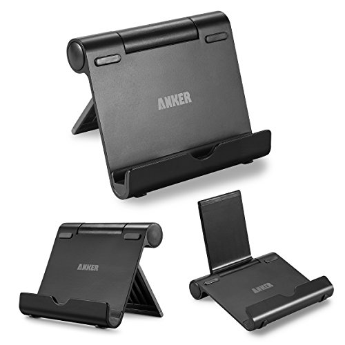 Anker AK-77ANSTAND-BA Multi-Angle Aluminum Stand for Tablets, e-Readers and Smartphones (Black)