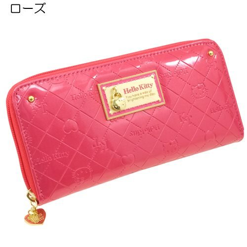 Hello Kitty 'Kitty charm» Croc purse anime toy store [rose]