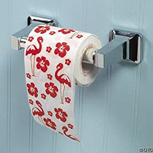 One Roll LUAU Flamingo 2-Ply Toilet Paper. Precio: $5.68