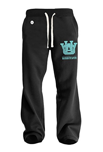 Uomo Pantaloni della tuta College - L Nero - University Of Whatever Campus Range