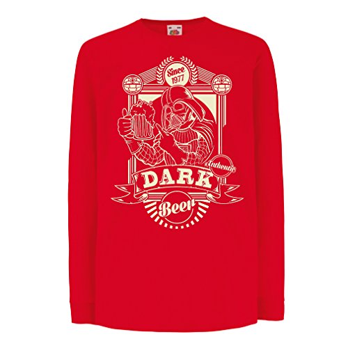 funny-t-shirts-for-kids-long-sleeve-dark-beer-3-4-years-red-multi-color