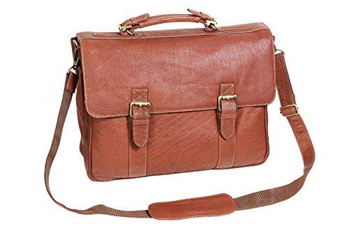 Oxford-Aktentasche-by-LEAS-in-Echt-Leder-dark-cognac-LEAS-Classic-Bags
