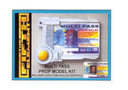 The Fifth Element Multipass Prop Model Kit (Leeloo 5th Element)